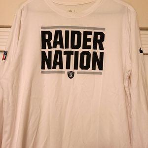 Raider Nation 🤘 Large Nike Long Sleeve